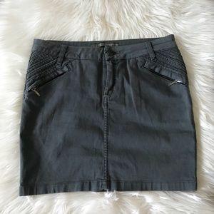 Zara Moto Style Mini Skirt